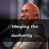 Obeying the Authority - Ecclesiastes 8:1 - C3237B