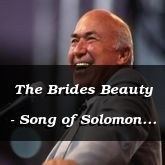 The Brides Beauty - Song of Solomon 4:8 - C3240B