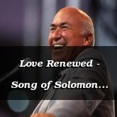 Love Renewed - Song of Solomon 8:5 - C3241C