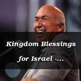 Kingdom Blessings for Israel - Isaiah 35:8 - C3258B