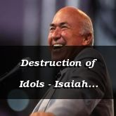 Destruction of Idols - Isaiah 46:1 - C3264A