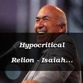 Hypocritical Relion - Isaiah 58:9 - C3270B