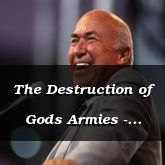 The Destruction of Gods Armies - Ezekiel 39:7 - C3333C
