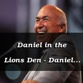 Daniel in the Lions Den - Daniel 6:16 - C2156C
