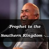 Prophet to the Southern Kingdom - Joel 1:1-15 - C2162A