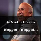 Introduction to Haggai - Haggai 1:1-2:12 - C2170D