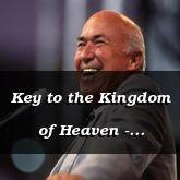 Key to the Kingdom of Heaven - Matthew 16:19-27 - C2510B