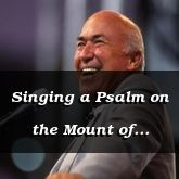 Singing a Psalm on the Mount of Olives - Matthew 26:30 - C2515D