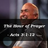 The Hour of Prayer - Acts 3:1-12 - C2555A