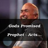 Gods Promised Prophet - Acts 3:22-4:20 - C2555D