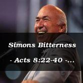 Simons Bitterness - Acts 8:22-40 - C2557E