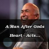 A Man After Gods Heart - Acts 13:22-49 - C2560C