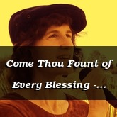 Come Thou Fount of Every Blessing - Robert Robinson, arr. Susan Hawthorne [Celtic Hymn]