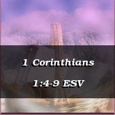 1 Corinthians 1:4-9 ESV