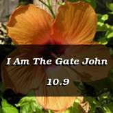 I Am The Gate John 10.9