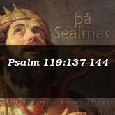 Psalm 119:137-144