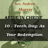 10 - Tenth Day: As Your Redemption