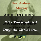 23 - Twenty-third Day: As Christ in the Father