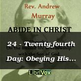 24 - Twenty-fourth Day: Obeying His Commandments