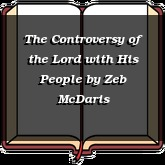 The Controversy of the Lord with His People