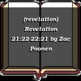(revelation) Revelation 21:22-22:21