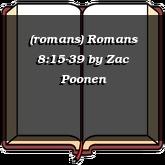 (romans) Romans 8:15-39