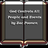 God Controls All People and Events
