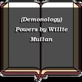 (Demonology) Powers