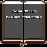 Psalm 32:9