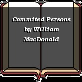 Commited Persons