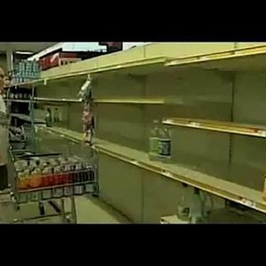 Empty Store Shelves Coming to America