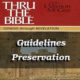 Guidelines Preservation