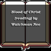 Blood of Christ (reading)