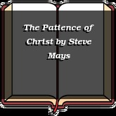 The Patience of Christ