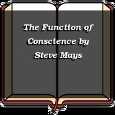 The Function of Conscience