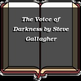 The Voice of Darkness