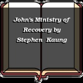 John's Ministry of Recovery