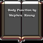 Body Function