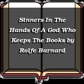 Sinners In The Hands Of A God Who Keeps The Books
