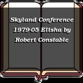 Skyland Conference 1979-05 Elisha