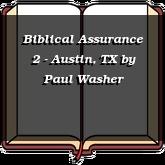Biblical Assurance 2 - Austin, TX