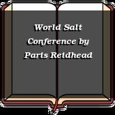 World Salt Conference