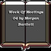 Week Of Meetings 04