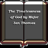 The Timelessness of God