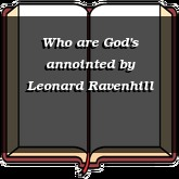 Who are God's annointed