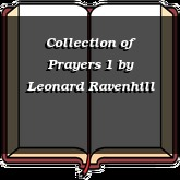 Collection of Prayers 1