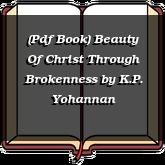 (Pdf Book) Beauty Of Christ Through Brokenness