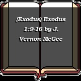 (Exodus) Exodus 1:9-16