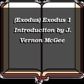 (Exodus) Exodus 1 Introduction