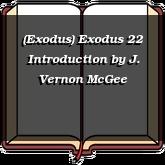 (Exodus) Exodus 22 Introduction